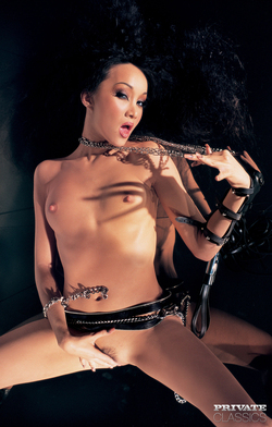 Pornstar Katsumi Black Latex Fetish - pics 00
