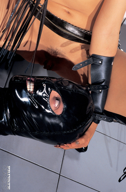 Pornstar Katsumi Black Latex Fetish - pics 04