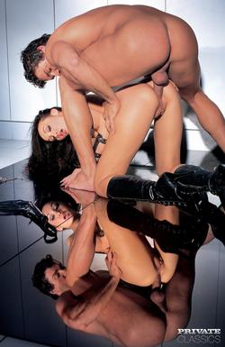 Pornstar Katsumi Black Latex Fetish - pics 09