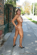 Nice Natural Big Boobs in Public - pics 14