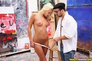 Artist fucks Hot Ivana in her ass - pics 02