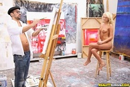 Artist fucks Hot Ivana in her ass - pics 03