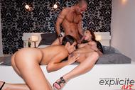 Liza Del Sierra Jasmine Arabia Crazy Anal 3some - pics 03