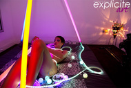Exotic Beauty and Neon Lights - pics 01