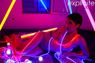 Exotic Beauty and Neon Lights - pics 08