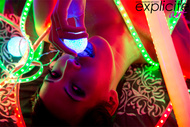 Exotic Beauty and Neon Lights - pics 11