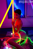 Exotic Beauty and Neon Lights - pics 12