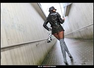 Milf in Fucking Sexy Latex Boots - pics 00