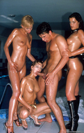 Oiled Babes Getting Fucked Hard - pics 13