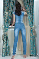 Curly Babe Sexy Full Body Jeans - pics 14