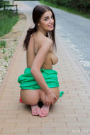 Hot Evita Lima flashing in Public - pics 10