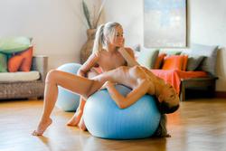 Miela A and Whitney Conroy Lesbians - pics 10