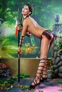 Naughty Gladiator Sexy Boobies - pics 03