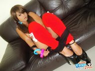 Big Tits Asian Gail with Lolipop - pics 10