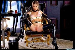 Pornstar Aimee Sweet Black Latex - pics 00