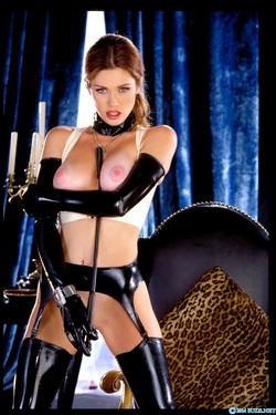 Pornstar Aimee Sweet Black Latex - pics 16