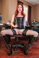 Redhead Slut Gets ready to fuck - pics 02