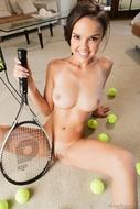 Fuckable Teen with Tennis Balls - pics 13