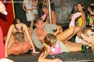 Wild Group Sex @ the Disco Club - pics 09