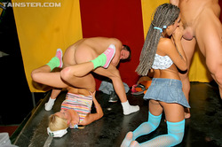 Wild Group Sex in the Disco Club - pics 01