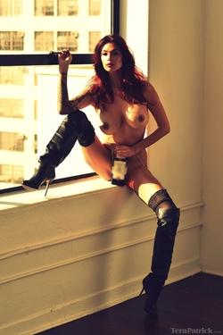 Pornstar Tera Patrick Black Boots - pics 02