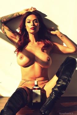 Pornstar Tera Patrick Black Boots - pics 04