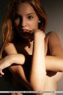 Busty Naked Redhead Babe - pics 14
