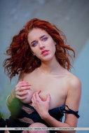Redhead Whore Black Leather - pics 10