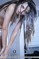 Beautiful Rasta Babe Stripping - pics 04