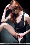 Busty Redhead Sexy Drummer - pics 05