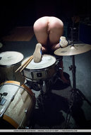 Busty Redhead Sexy Drummer - pics 11