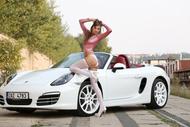 Maria Ryabushkina Fucks her Car - pics 00