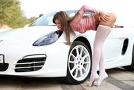 Maria Ryabushkina Fucks her Car - pics 02