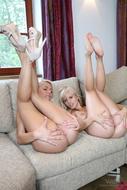 Grace vs Bella Babe Lesbian Love - pics 11