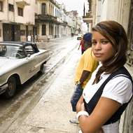 Wonderful Cuban Girls with Cars - pics 00