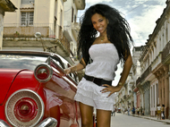 Wonderful Cuban Girls with Cars - pics 03