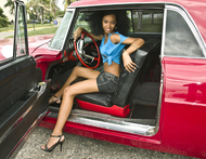 Wonderful Cuban Girls with Cars - pics 07