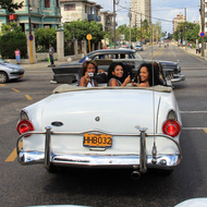 Wonderful Cuban Girls with Cars - pics 14