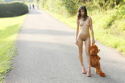 Sweet Teen Nika Loves her Teddy Bear - pics 00