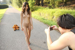 Sweet Teen Nika Loves her Teddy Bear - pics 02