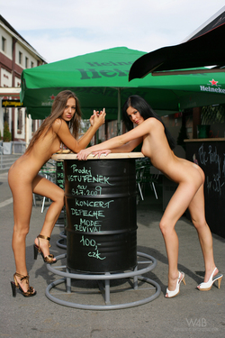 Dominika C and Monicca Public Nudes - pics 08