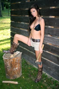 Petite Young Babe Monicca Woodland - pics 01