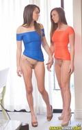 Sexy Lesbians in Tight Dresses - pics 07