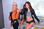 Malena Morgan Hot Lesbian Trio - pics 04