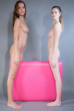 Silvie Luca and Vanessa Hot Lesbians - pics 04