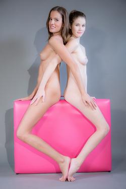 Silvie Luca and Vanessa Hot Lesbians - pics 16