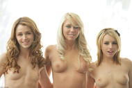 Brynn Lexi Gorgeous Blondes Posing Nude - pics 07