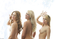Brynn Lexi Gorgeous Blondes Posing Nude - pics 12