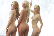 Brynn Lexi Gorgeous Blondes Posing Nude - pics 13