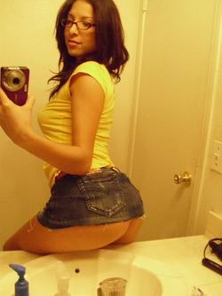 Damn Hot Amateur Babe Selfshots - pics 07